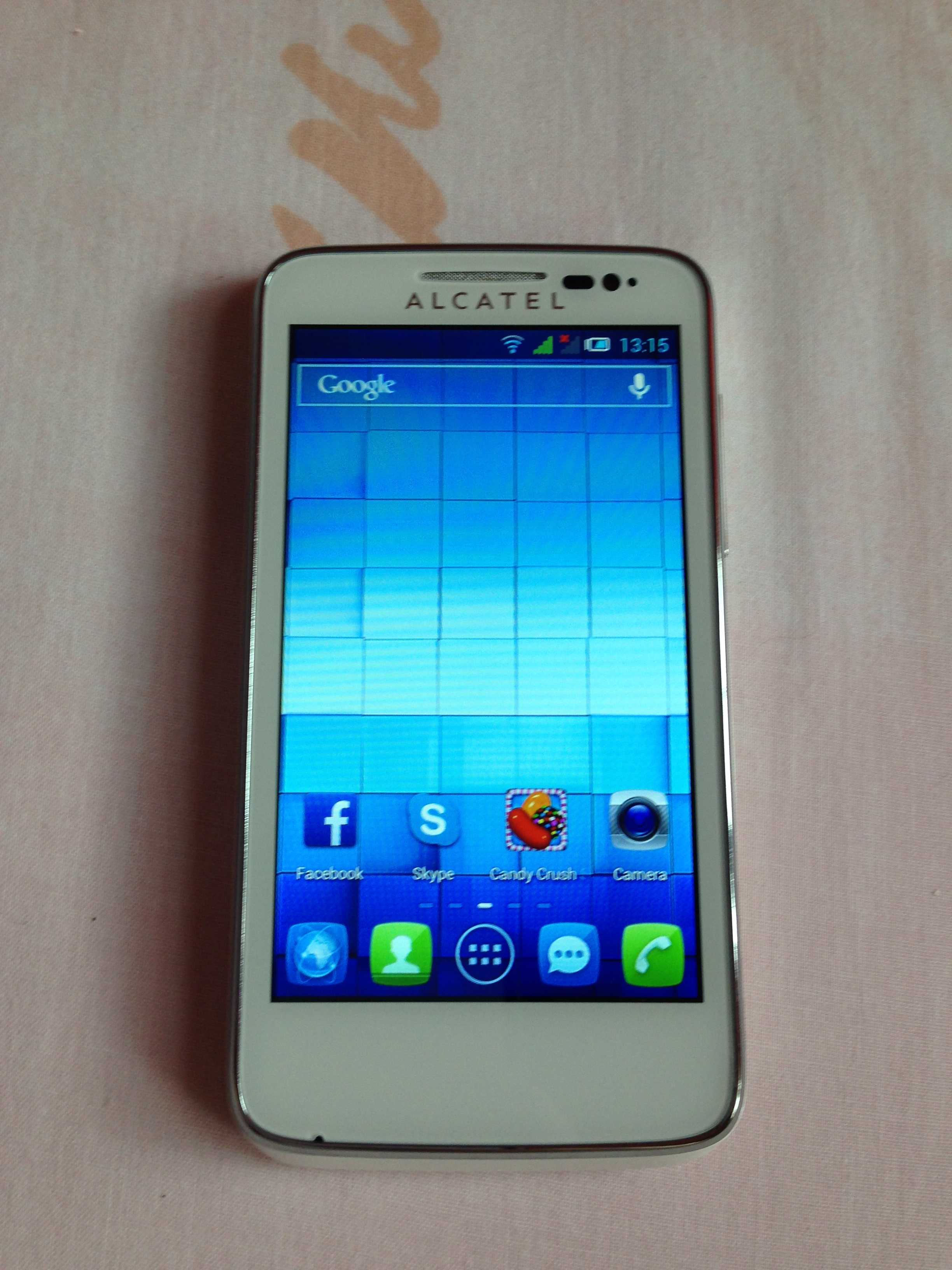 Alcatel One Touch Soleil Specs