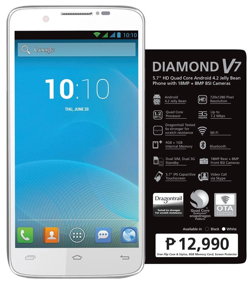 Starmobile Diamond V7 Now Available For P12,990! | FILIPINO TECH ADDICT