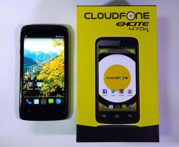cloudfone excite  470q
