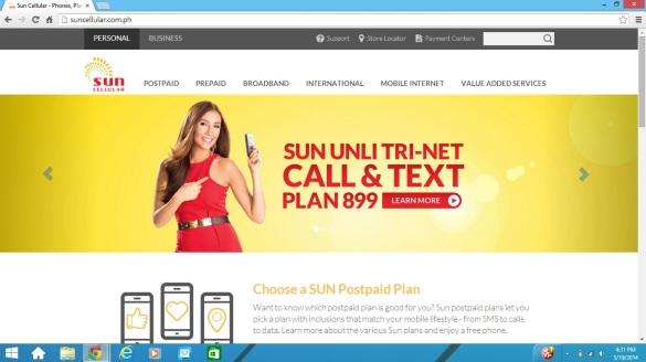 Sunwebsite