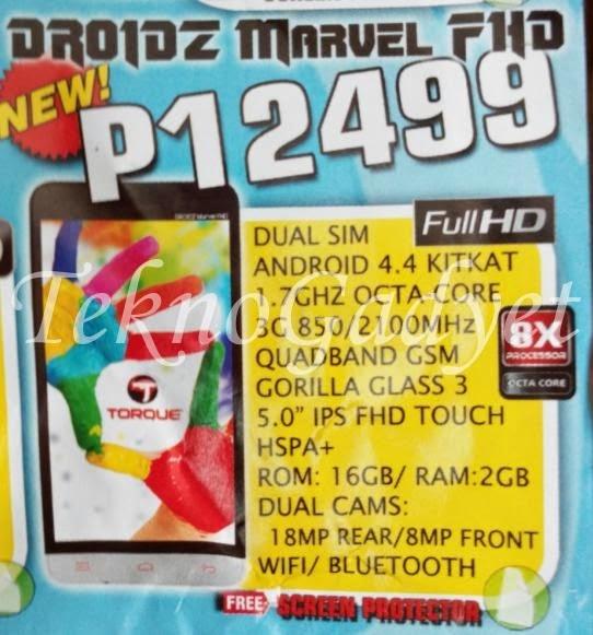 Torque Droidz Marvel