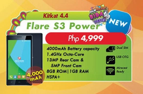 Cherry-Mobile-Flare-S3-Power-specs-price