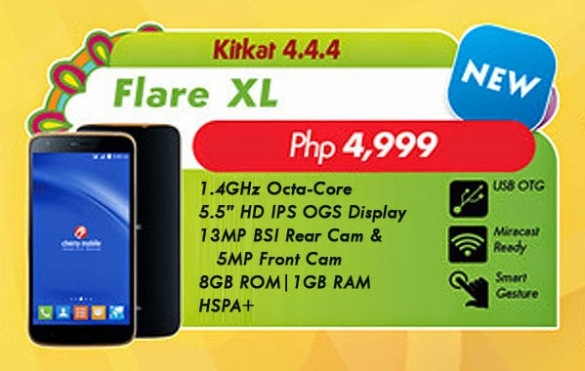 Cherry-Mobile-Flare-Xl-specs-and-price-poster
